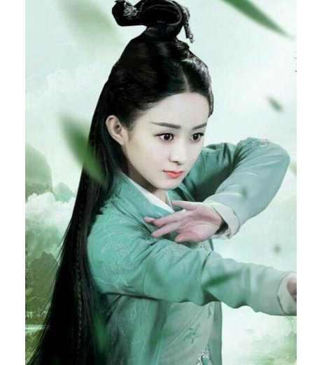 剧中绝美的古装绿衣女子, 赵丽颖杨幂美艳十足, 第一名当之无愧!