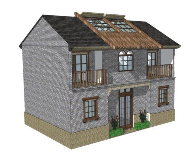 农村60平小户型自建房设计图展示