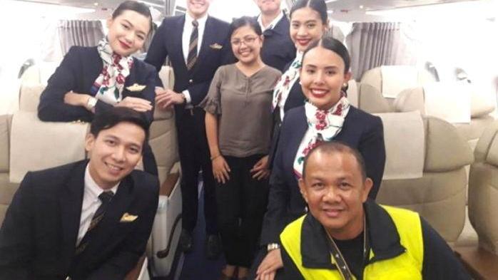 发现整个飞机就自己一个乘客 女子买经济舱机票登机