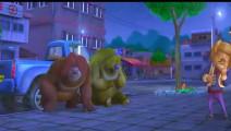 熊出没 ;强哥好喜欢小狗哦