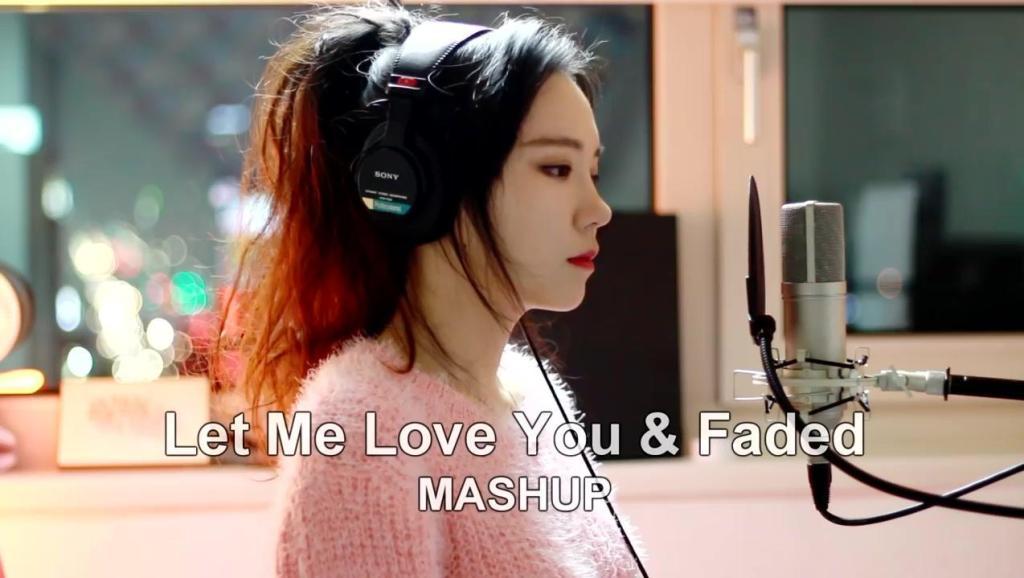 终于找到了,最美翻唱: Let Me Love You & Faded