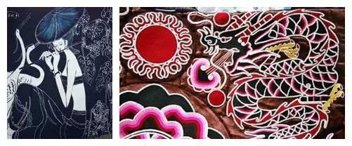 ▎ 刺绣与挑花,是贵阳传统民族工艺,具有各少数民族的风格特色:布依族