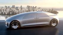 国外发明的智能无人驾驶汽车,遇到行人会自动让路,自动停车自动上下楼!
