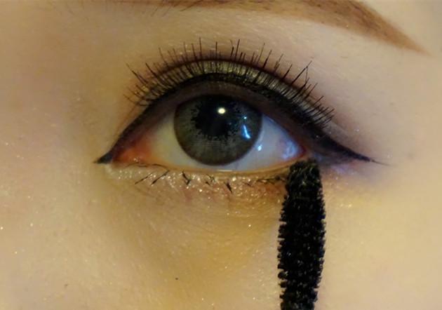 分享一下画眼妆小技巧, 简单易懂, 就能男人看了都能学会.