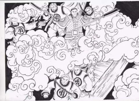 简笔画 设计 矢量 矢量图 手绘 素材 线稿 479_349