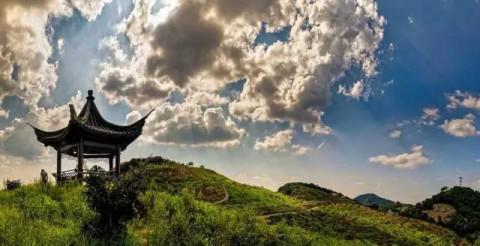 月华山步道(探险步道):香榧森林公园—寒天佩—月华山顶—月华山—