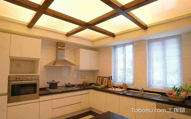 厨房天花吊顶效果图案例, 厨房天花吊顶效果图分享