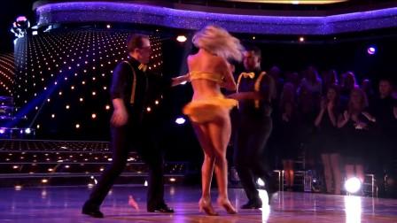 牛仔舞表演舞 Frankie and_Witney's-Trio Dance-Dancing with the Stars