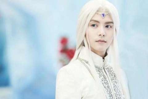 男明星古装白发造型, 高伟光只能排第四