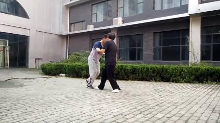 邯郸学院武式太极拳推手