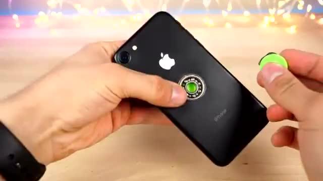 这是我见过的最贵指尖陀螺,iphone7打造
