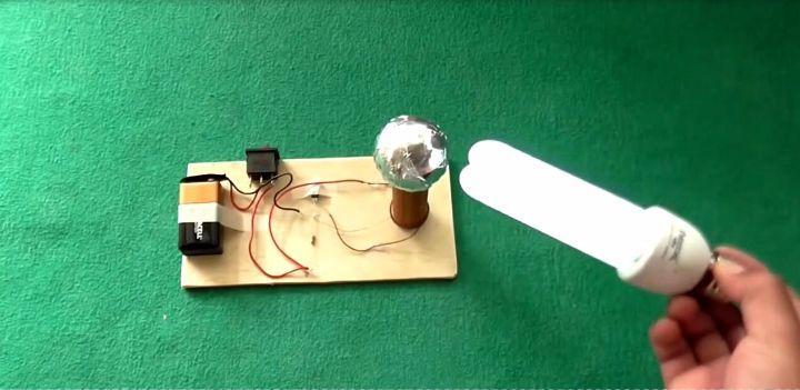 创意diy: 在家制作一个迷你特斯拉线圈,感受下神奇的实验