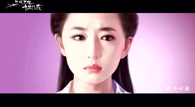 打开 手绘版杨洋刘亦菲三生三世十里桃花,画面和配音都美到不像话!