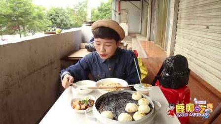 [嗦粉]早餐就吃了4碗粉+小笼包还有~还有~张家界美食推荐 我不是大胃王鹿痴吃