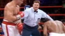 只因他误中对方裆部,引发全场教练拳手互殴,场面火爆