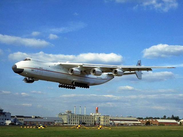 局研制的超大型货运飞机