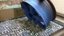 水转印技术太高科技了,放进去一秒就可出成品