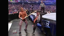 HBK暴打WWE老板麦克,儿子看着父亲被打差点心脏病