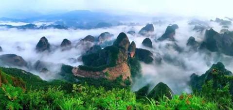 世界地质公园,国家级风景名胜区,国家aaaa级旅游景区) 绥宁县 黄桑