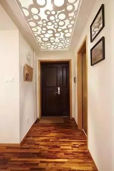 老婆装修88平新房, 全屋铺木地板只花8万, 邻居看了都说好