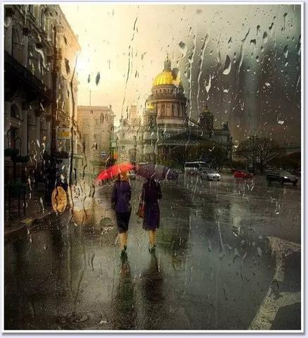 淋雨伤感图片雨天淋雨的伤感壁纸淋雨伤感