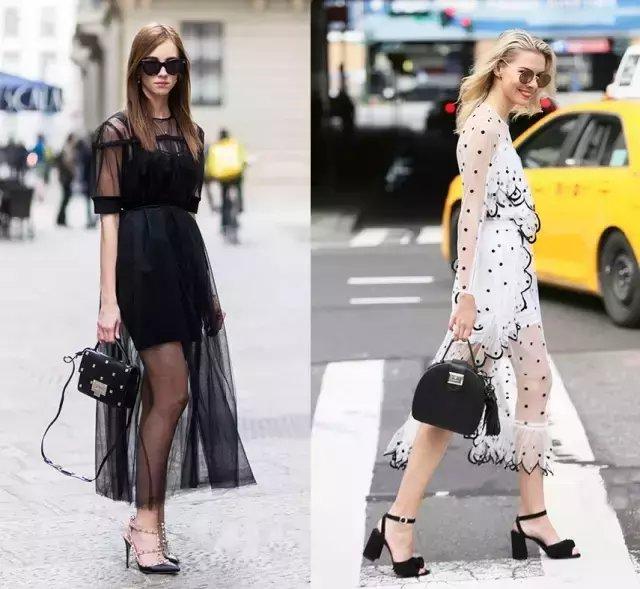 今夏仙气十足的纱裙才是主流, 因为显瘦 33