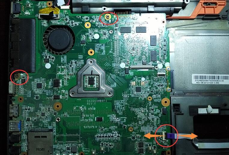 相关标签 笔记本电脑 主板拆机教程 acer e1-471g 宏基e1-471g