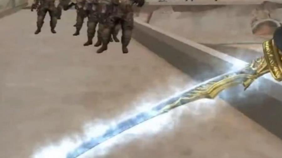 """穿越火线: 新出一把""""疾风之刃"""", 可以释放龙卷风, 犹如亚索附身"""