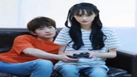 《微微一笑很倾城》杨洋郑爽互动玩游戏,就这样二个小年轻谈恋爱了