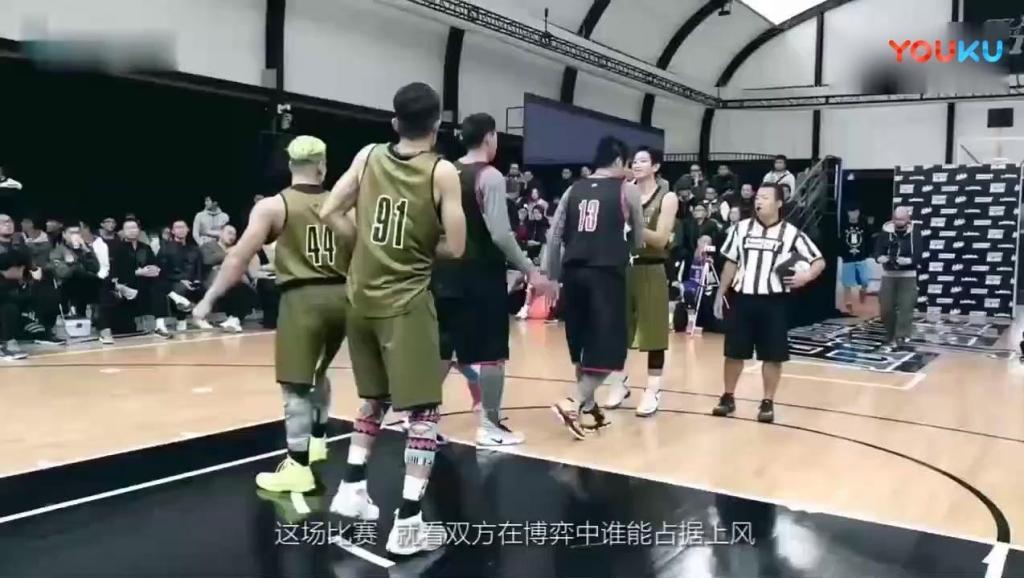 中日街头篮球大战,你确定这是一场篮球比赛,不是抗日战争吗