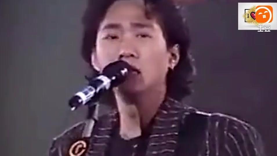 黄家驹《光辉岁月》1991年现场版,唯一声音跟录音棚一致的男歌手!