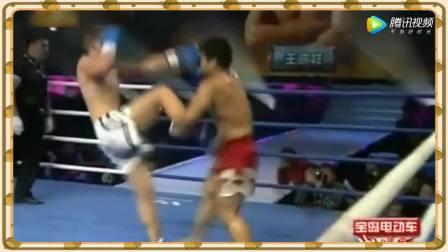 武林风 王洪祥复出重拳KO世界排名第一的美国拳王 一龙方便没法比