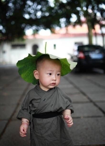 西禅寺超可爱小和尚