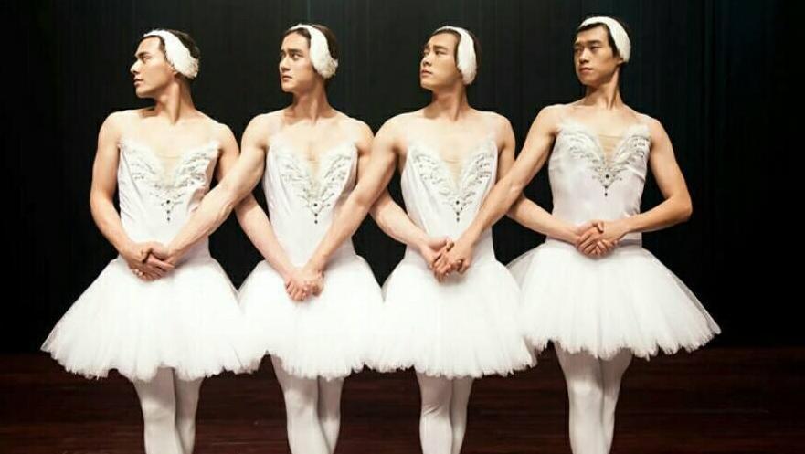 三分钟看完4个男生一起跳芭蕾完成一个女生梦想电影《栀子花开》