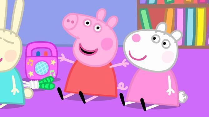 小猪佩琪 与小羊苏茜的塑料姐妹情 124集 《才艺日》