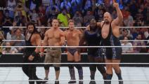 WWE到底是真打还是假打?看一下慢镜头就清楚了,请现在开始你们的表演!