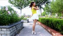 京京广场舞: 外景《爱呀呀》 正背面