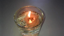 不可思议的科学实验,蜡烛能够在水下燃烧,难得一见的现象!