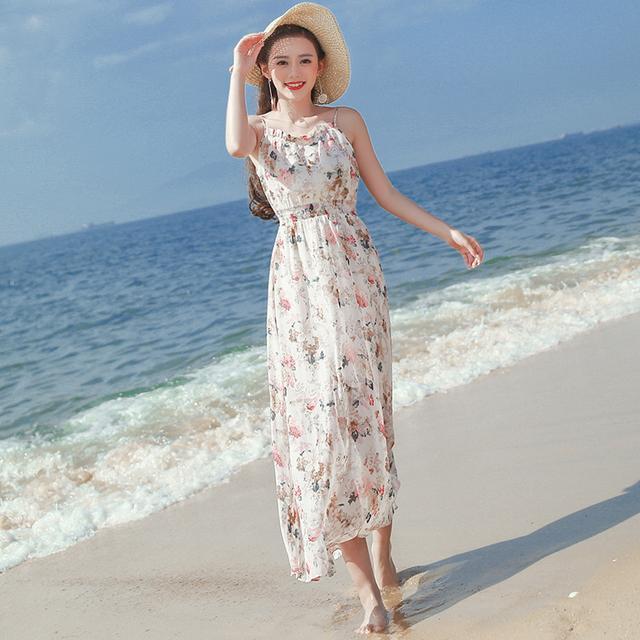 波西米亚长裙半身裙_去海边为什么要穿波西米亚长裙? 看了你就知道了