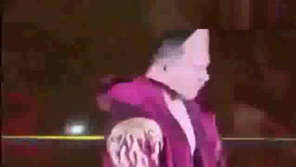WWE的中国第一人王彬,暴打国外壮汉,真给国人长脸!