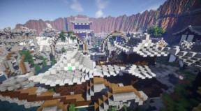 【我的世界】minecraft中式建筑 - 墨家殸龙船 & 机关城图片