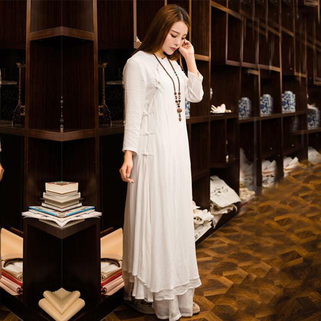 """姑娘不要穿韩版了, """"改良汉服""""才是17年的流行趋势, 优雅大方 19"""