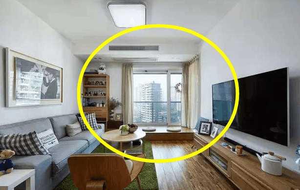客厅和阳台一体装修效果图