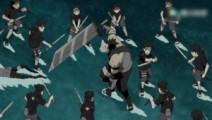 小时候的止水与鼬,联手击败暗部三人组,天才还是一如既往那么强!
