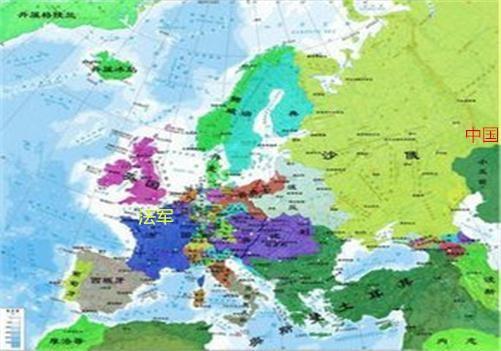 被沙俄的土地地图