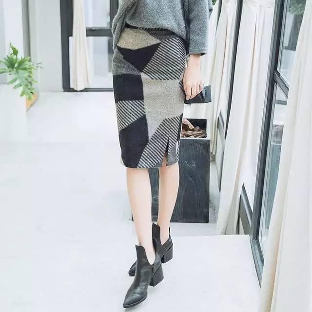 竖条纹半身裙_经典格纹半身裙, 让你美到爆