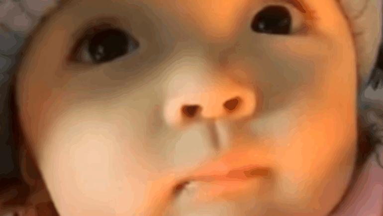 萌宝视频,看到这双大眼睛,被彻底萌化了!