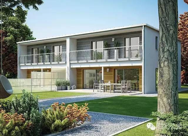 农村自建房 兄弟双拼别墅房型5套 德国设计就是棒