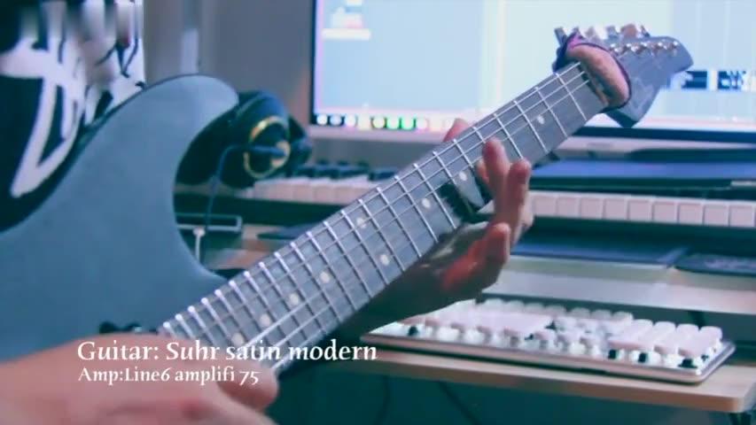 吉他阿北15年8月25日电音电吉他演奏会 (1)_土