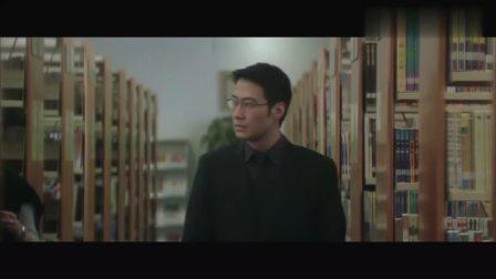 电影《无间道Ⅲ》这段,梁朝伟黎明眼神飚戏